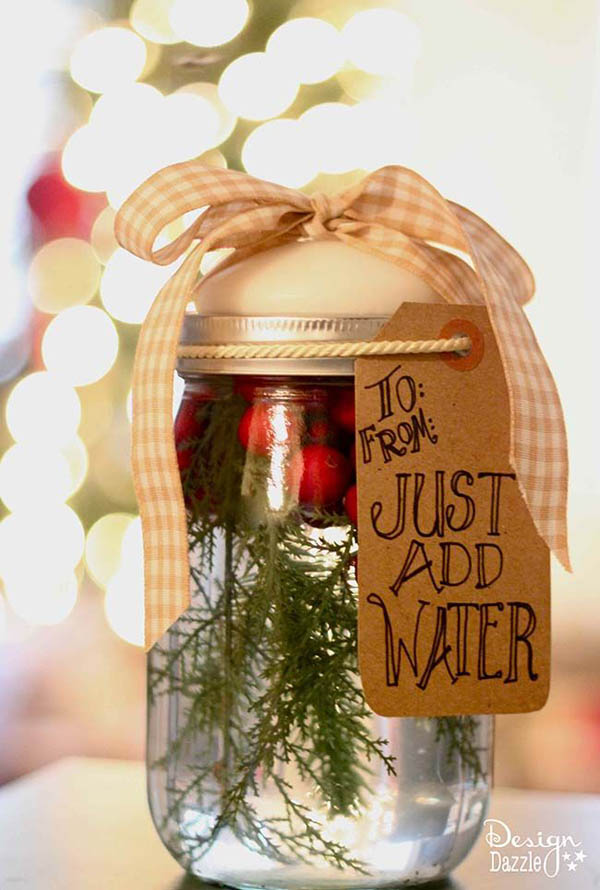 mason jar christmas decorations 16