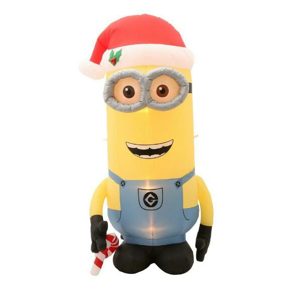 minions inflatable - Disney Inflatable Christmas Decorations