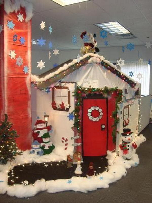 Decorating Ideas > Top 15 Office Christmas Decorating Ideas  Christmas  ~ 063339_Christmas Decorating Ideas Work