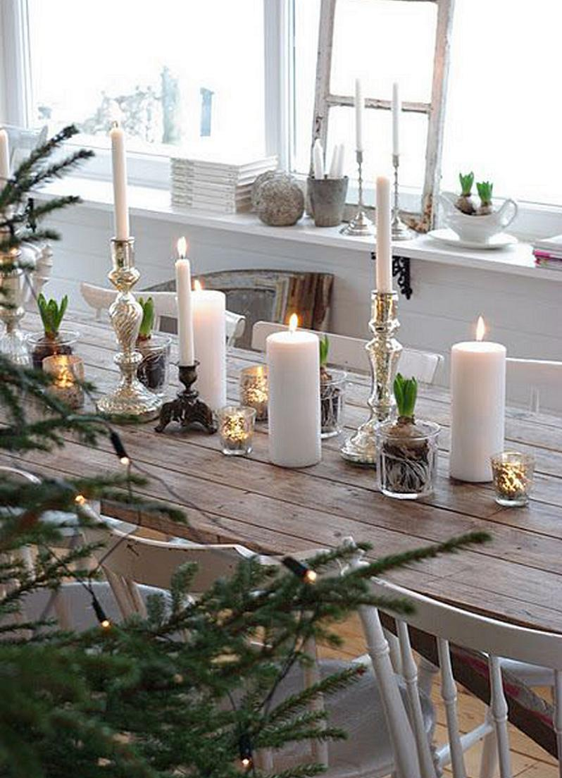 white-christmas-table-decorations