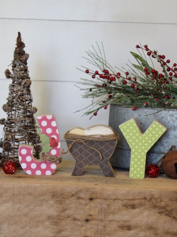 source - Wooden Christmas Decorations