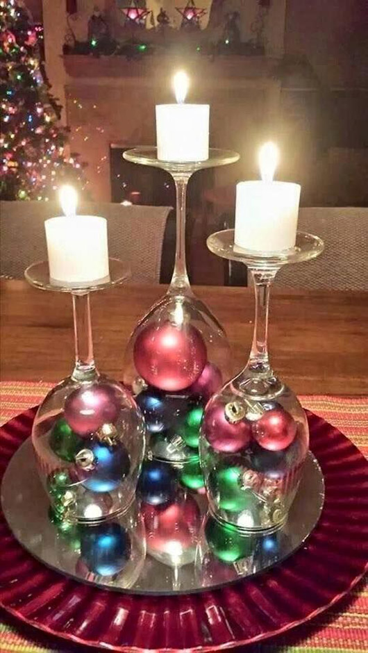 christmas candle decoration ideas 15