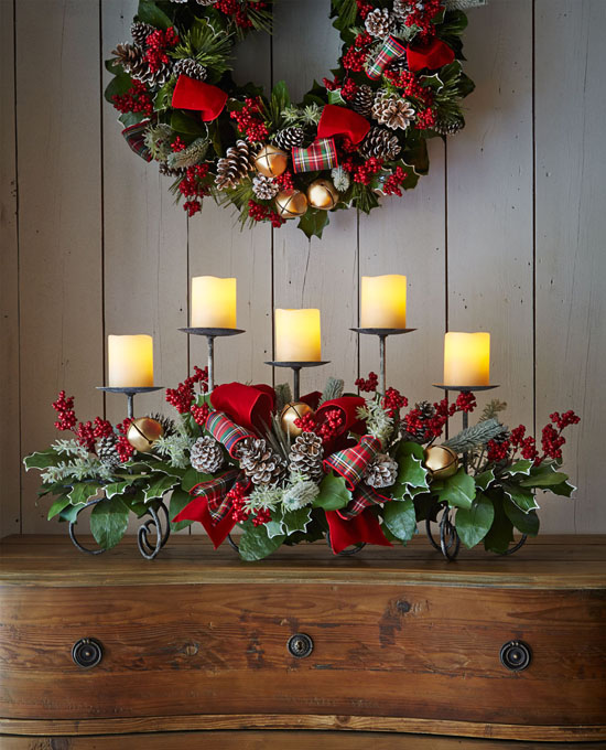 christmas candle decoration ideas 38