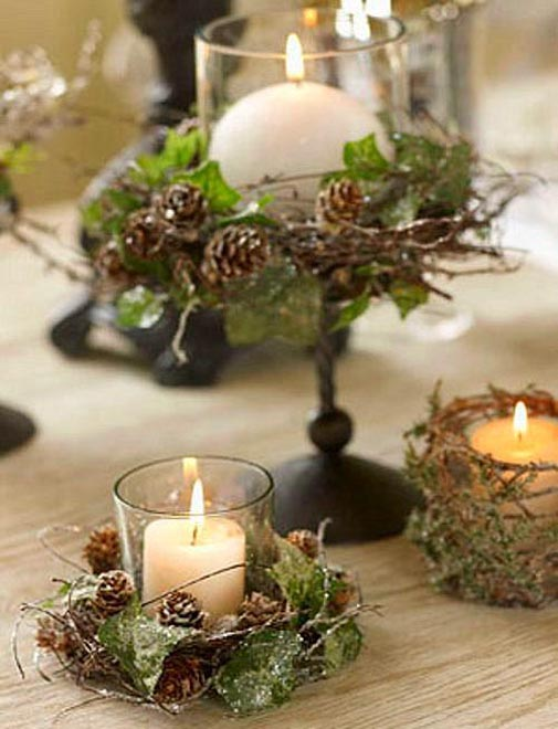 Top Christmas Candle Decorations Ideas - Christmas Celebration - All ...