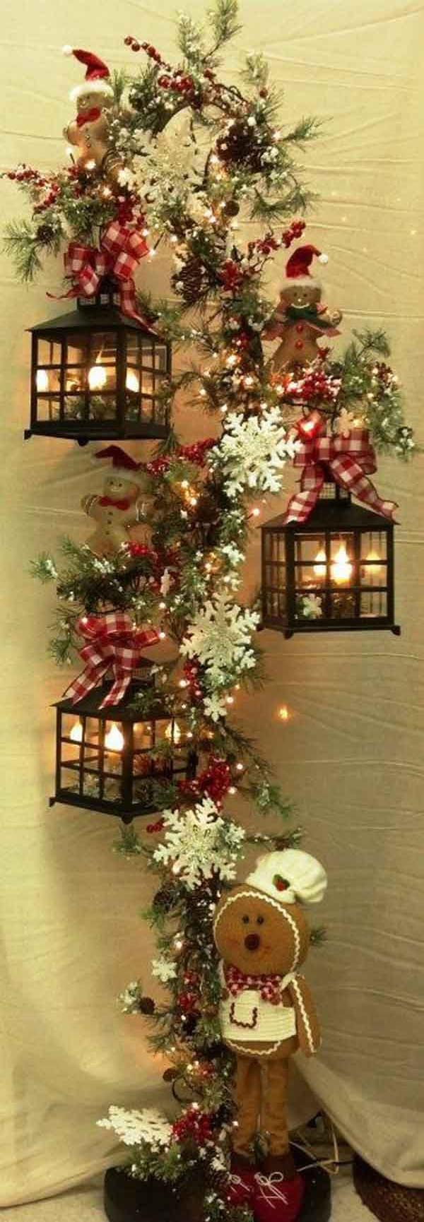 Most popular christmas pins in pinterest christmas for Indoor xmas decorating ideas