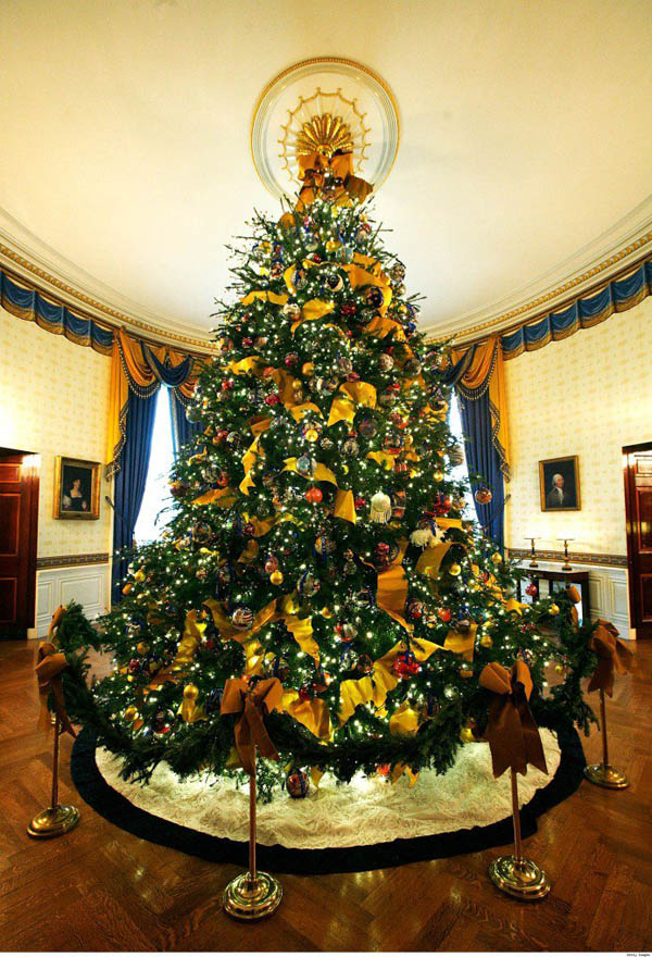 most beautiful christmas trees 01 - Elegant Christmas Trees