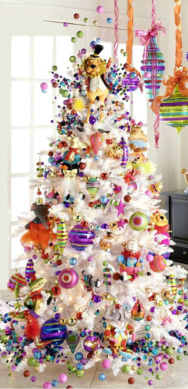 Beautiful christmas tree decorations ideas christmas - Arbol de navidad decorado ...