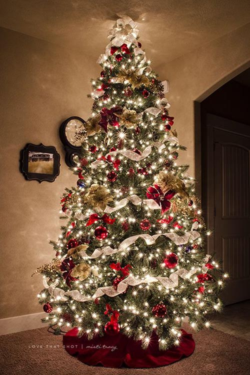 Beautiful christmas tree decorations ideas christmas for Pretty christmas pics