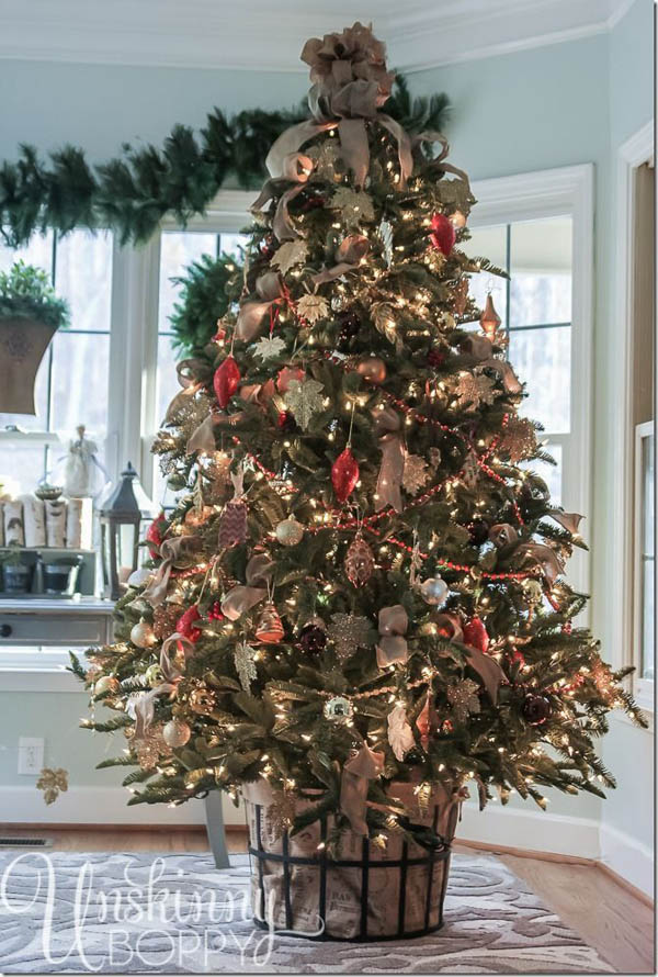 most beautiful christmas trees 24 - Country Christmas Tree Decorations