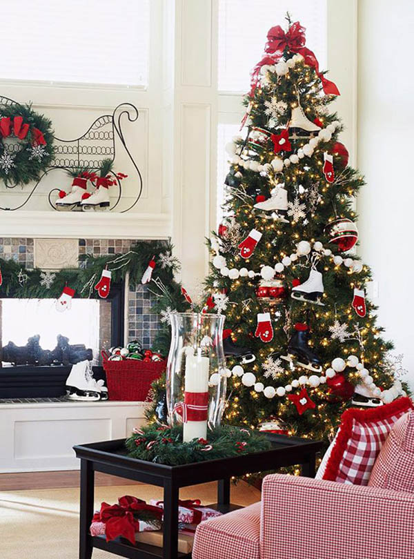 most beautiful christmas trees 28 - Beautiful Christmas Tree Decorations