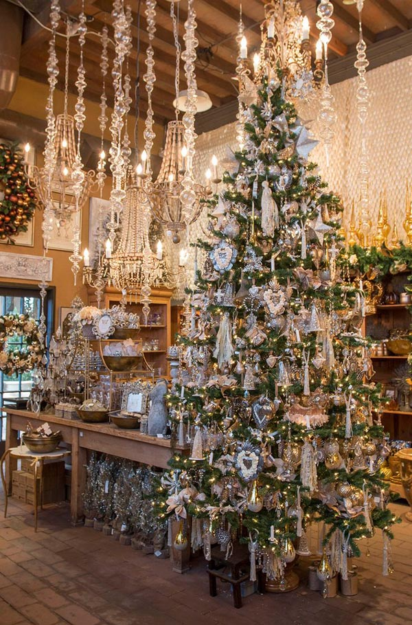 Most beautiful christmas tree decorations ideas for Most beautiful christmas photos