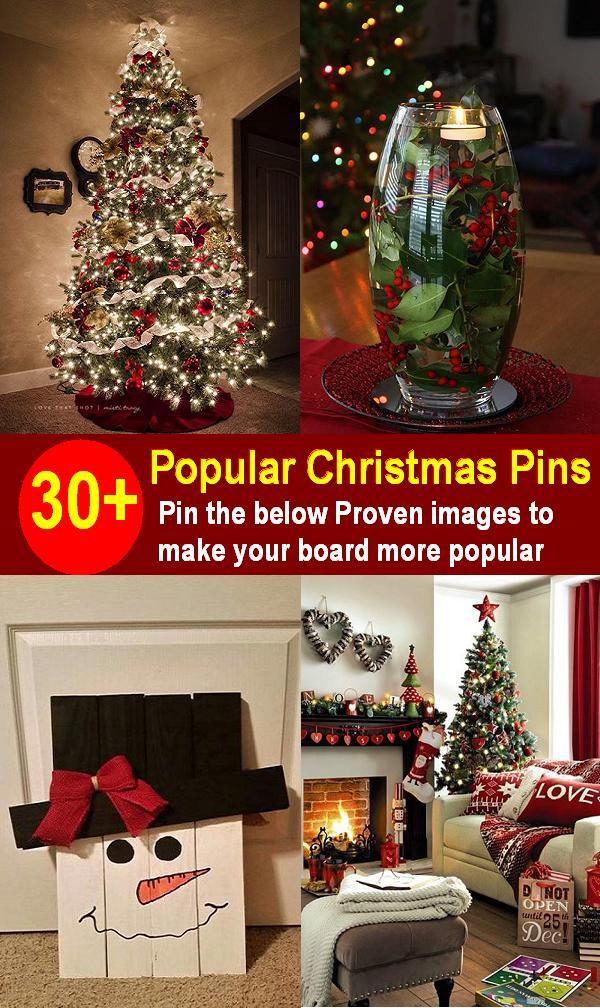 pin the below proven images to make your board more popular popular christmas pins - Christmas Pins