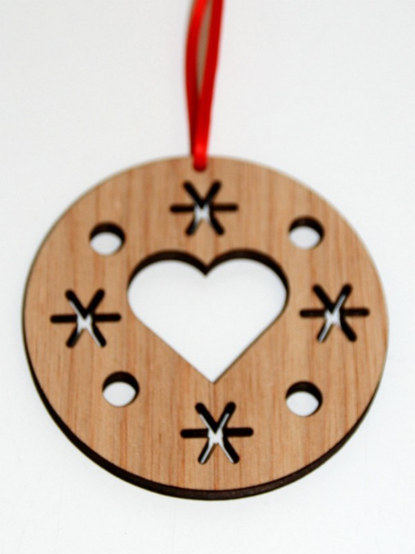 Wooden Christmas Ornaments Part - 49: Wooden Christmas Tree Ornaments: Source