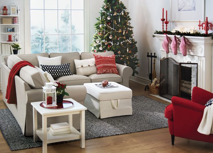 Most pinteresting christmas living room decoration ideas for Christmas ideas for living room