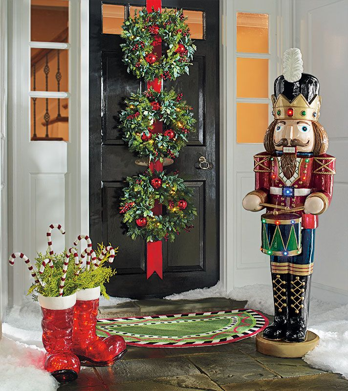 Unique Holiday Decorations: Top 40 Christmas Door Decoration Ideas From Pinterest