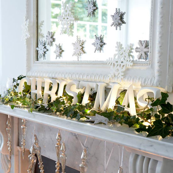 Christmas Mantel Ideas.Top Christmas Mantel Decorations Christmas Celebration