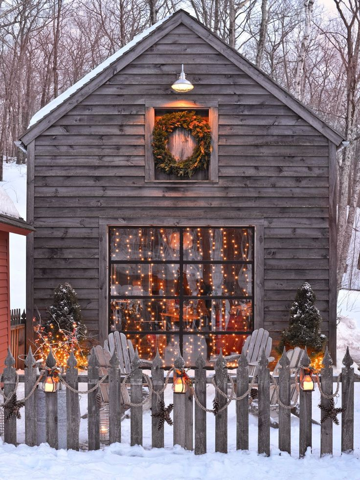 Country Christmas Decor Outside : Top country christmas decoration ideas