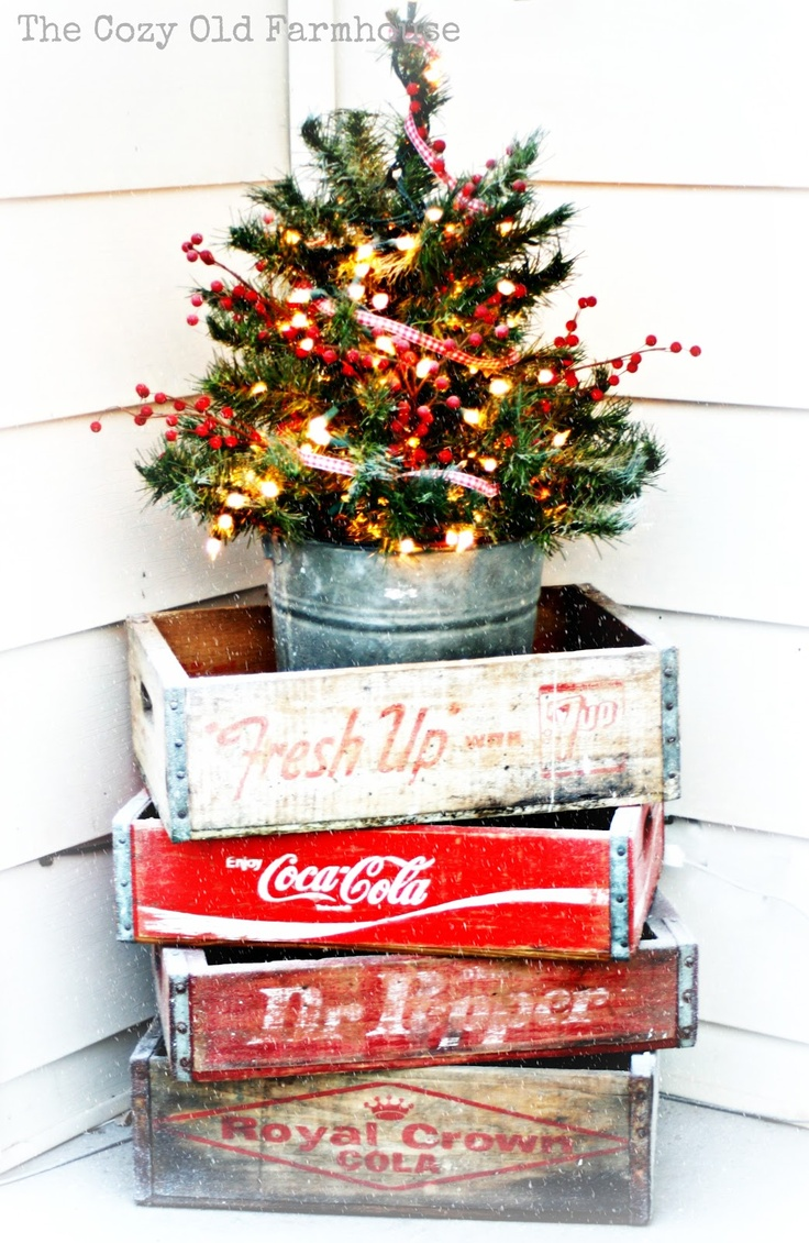 source - Decorating Porch For Christmas Country