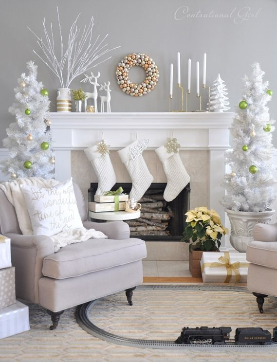 Christmas Decoration Living Room most pinteresting christmas living room decoration ideas