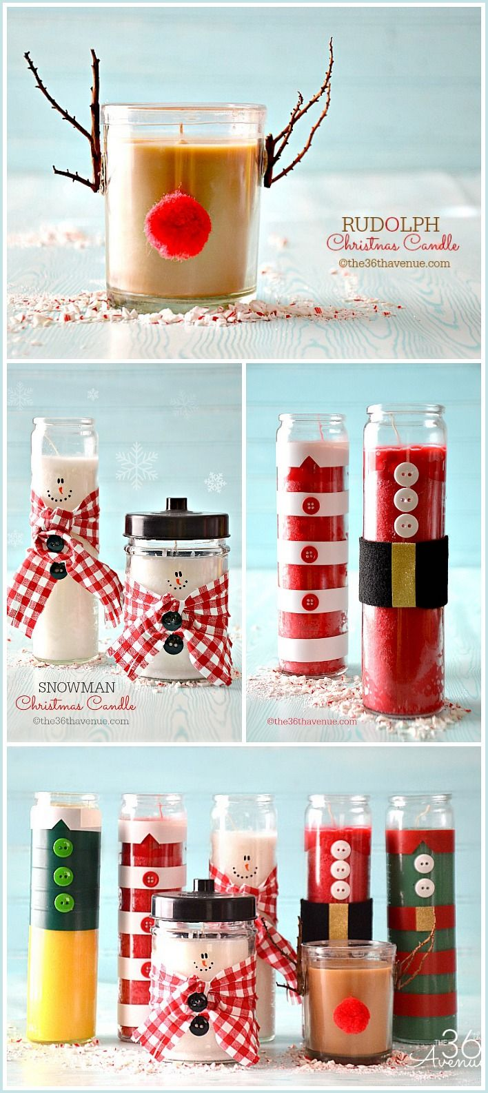 Top 40 most pinteresting christmas candle decoration ideas source solutioingenieria Gallery