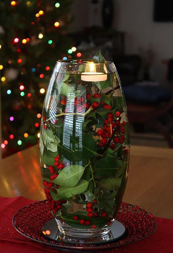 Top 40 Most Pinteresting Christmas Candle Decoration Ideas Christmas Celebration All About Christmas