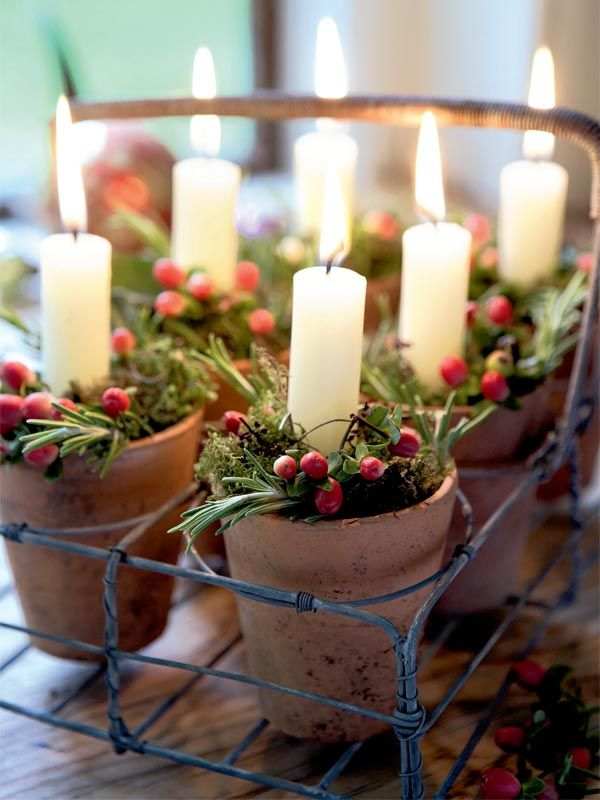Wonderful Country Decorating For Christmas Part - 9: Christmas Celebrations