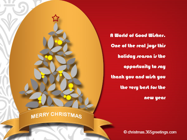 business christmas wishes - Business Holiday Card Messages