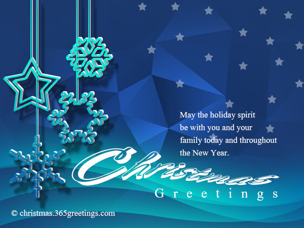Business Christmas Messages and Greetings - Christmas Celebration ...