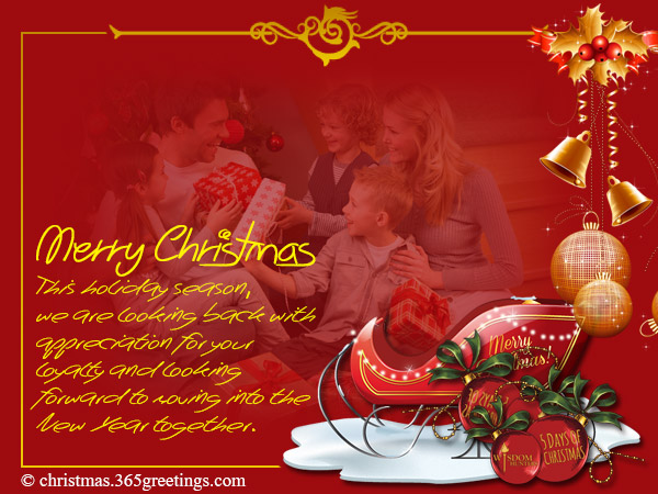 Business christmas messages and greetings christmas celebration business christmas cards 05 m4hsunfo Choice Image