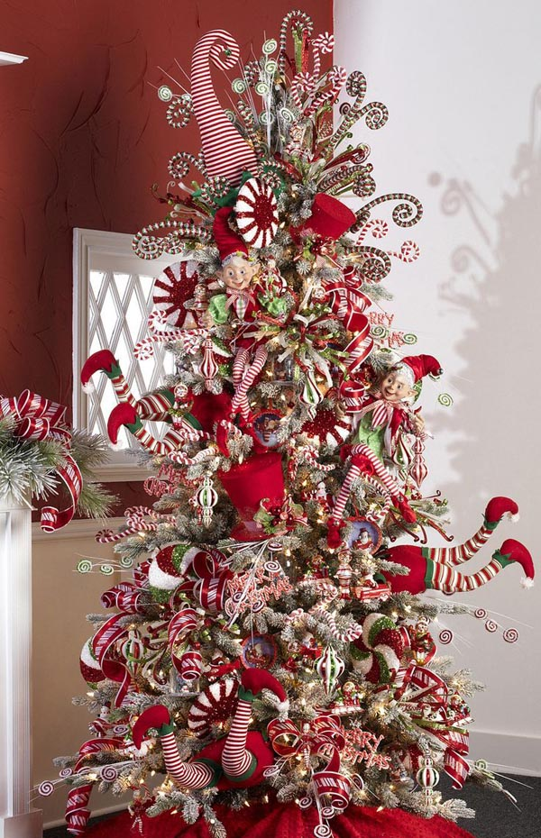 Most pinteresting christmas trees on pinterest christmas House beautiful christmas trees