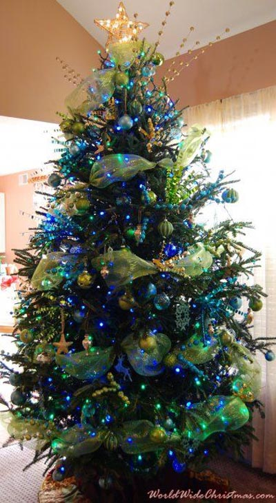 blue-green-christmas-tree