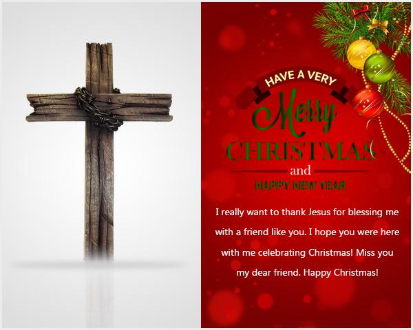 Beau Religious Christmas Card Verses