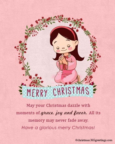 christian christmas messages for friends - Christian Christmas Card Messages
