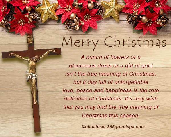 christian christmas messages for family