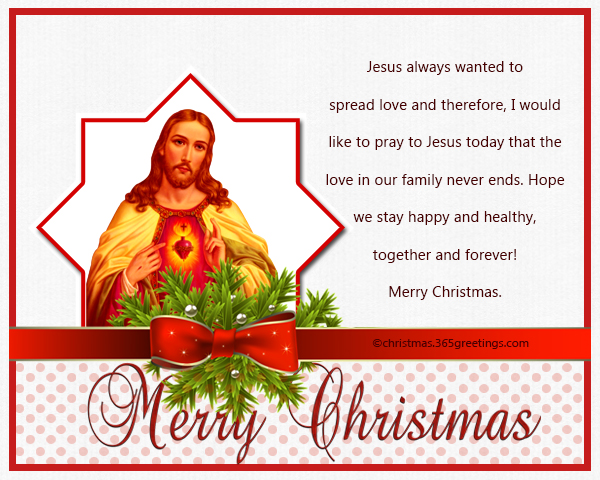 Christian christmas messages and wishes christmas celebration every christian understands the true and sacred meaning of christmas we celebrate it as the day that our lord jesus was born into the world m4hsunfo Gallery