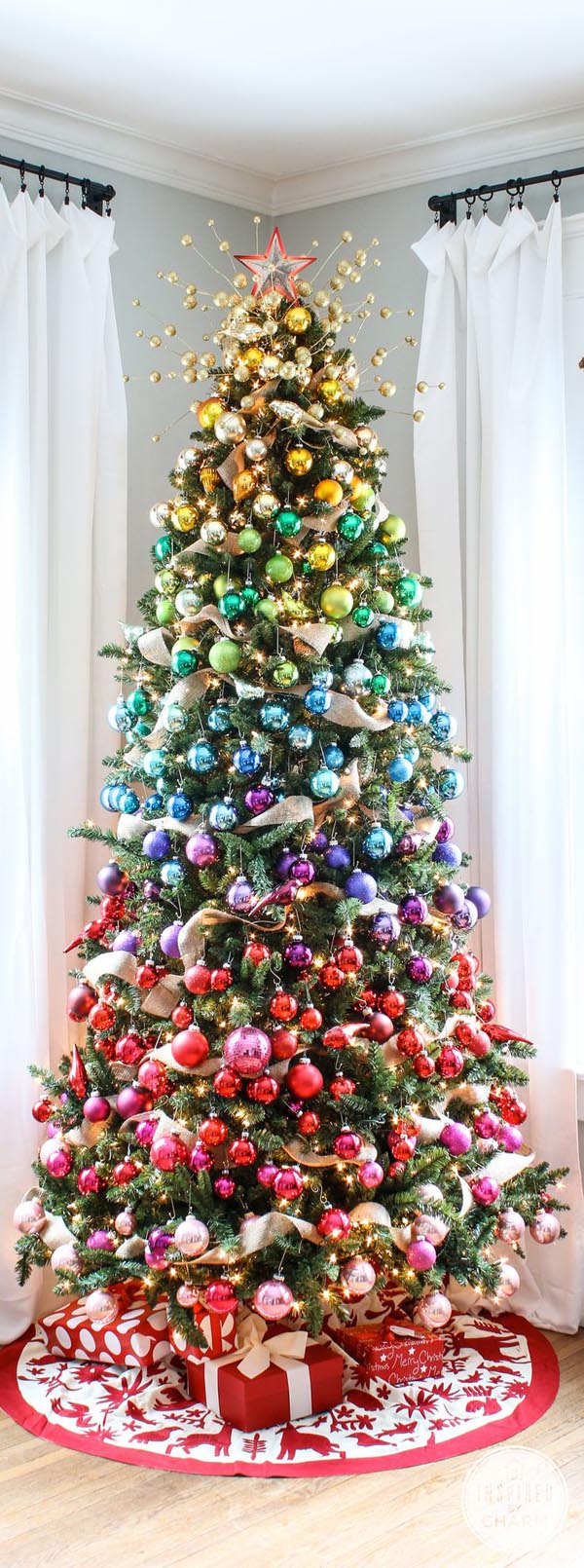 most pinteresting christmas trees on pinterest christmas. Black Bedroom Furniture Sets. Home Design Ideas