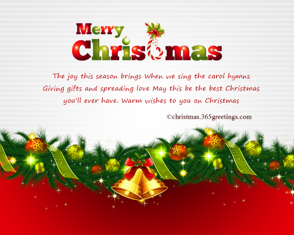 Business Christmas Messages and Greetings – Christmas Celebration ...
