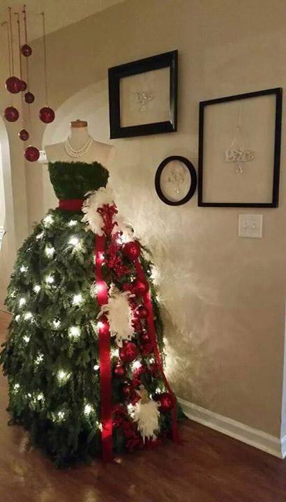 Gorgeous Christmas Tree Dress