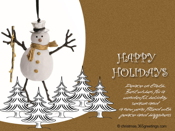 Happy holidays messages and wishes christmas celebration all happy holidays cards 003 m4hsunfo
