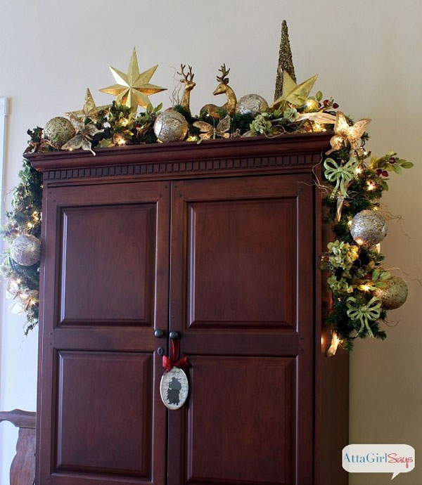 Ideas For Decorating Top Of Kitchen Cupboards: Top Indoor Christmas Decorations On Pinterest