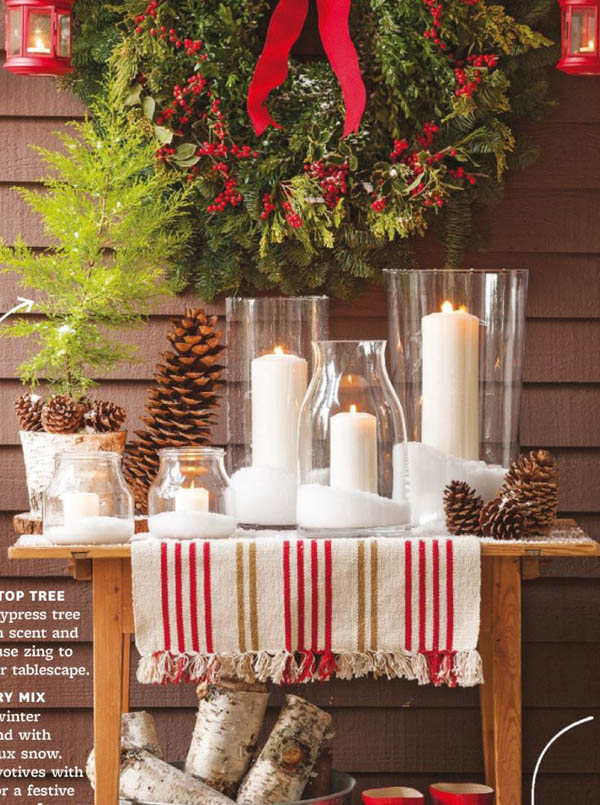 Top indoor christmas decorations on pinterest