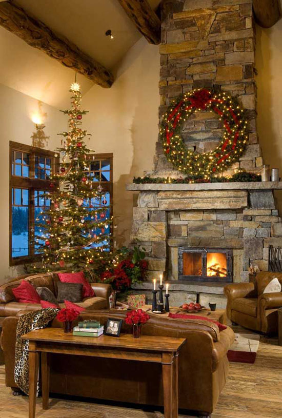 Most popular indoor christmas decorations on pinterest for Interior xmas decorations