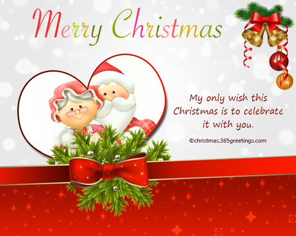 Christmas Messages for Boyfriend - Christmas Celebration - All about ...