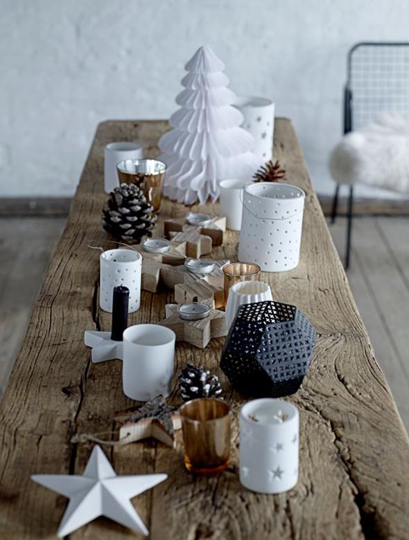 Top scandinavian christmas decorations christmas - Decor de table noel ...