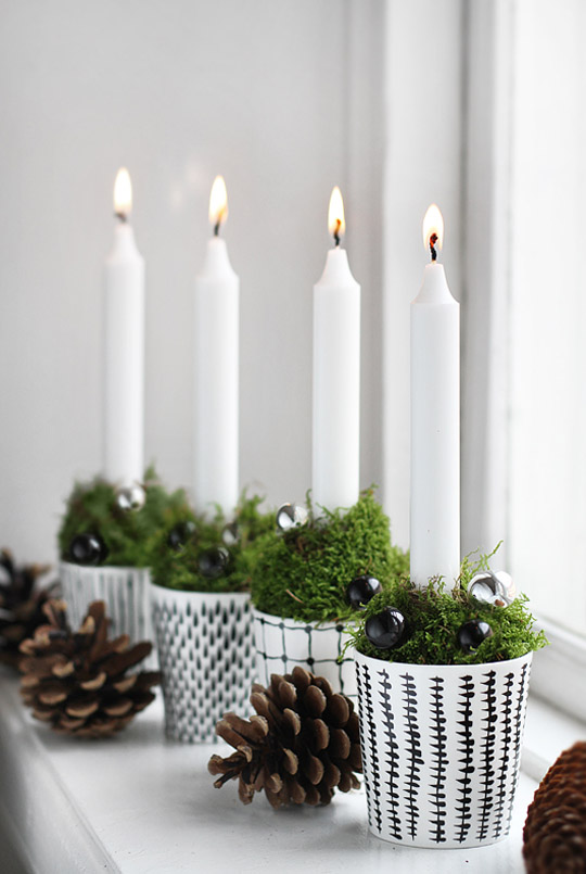 scandinavian christmas decorating ideas 38