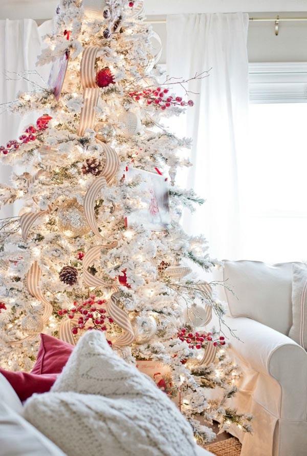 vintage-christmas-tree-decorating-ideas
