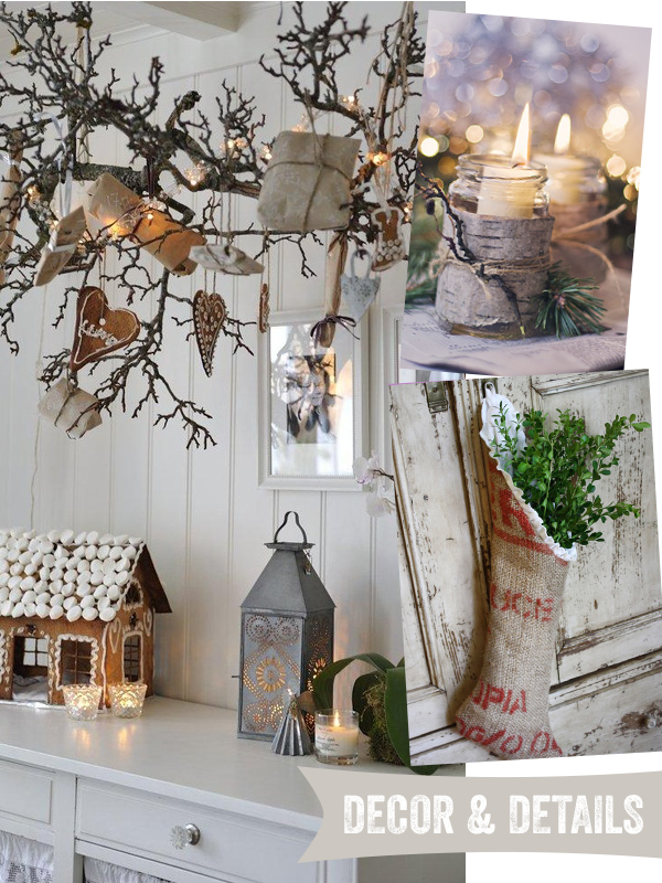 Rustic Xmas Decoration Ideas