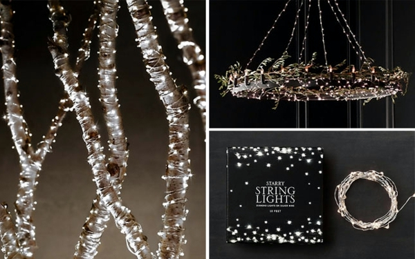 Tree Branches With LED Lights Source & Top 40 Stunning Indoor Christmas Light Decoration Ideas - Christmas ...