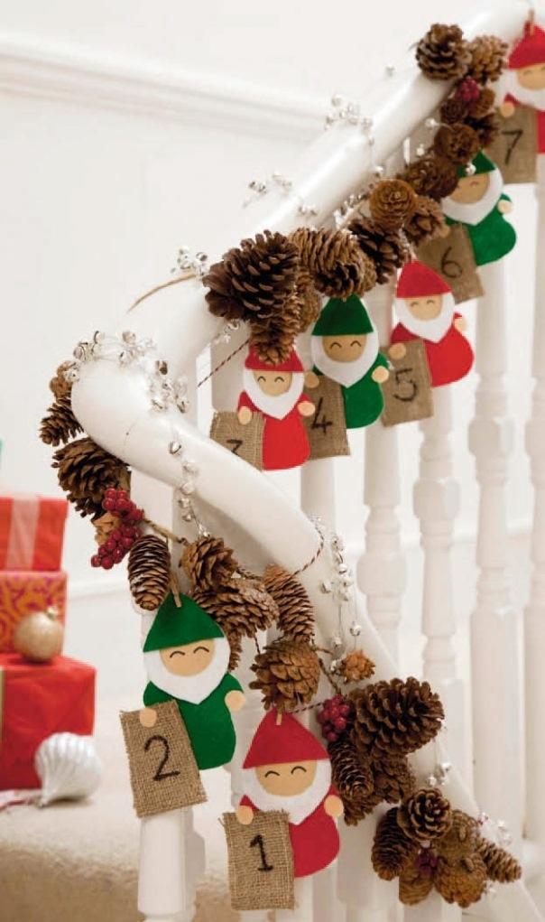 Nice Christmas Stairs Decoration Ideas Part - 12: Christmas Celebration
