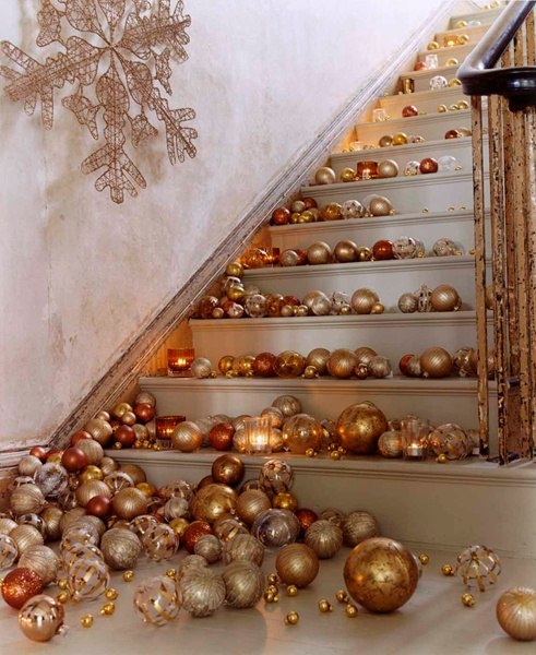 before trying out this decoration idea make sure you have sorted all the works on the first floor